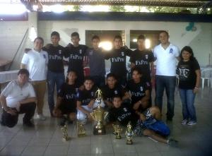 Equipos ganador de Yo Me Apunto - Mejicanos